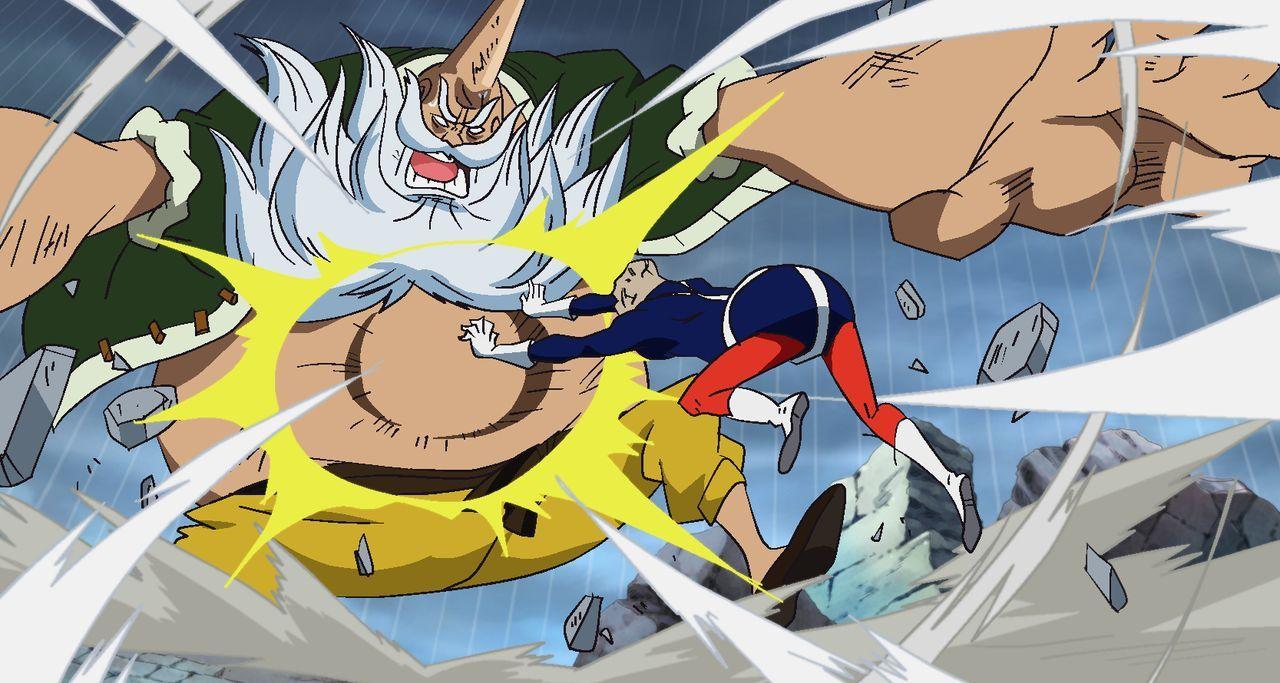 Chinjao (l.); Lao G (r.) - Bildquelle: Eiichiro Oda/Shueisha, Toei Animation