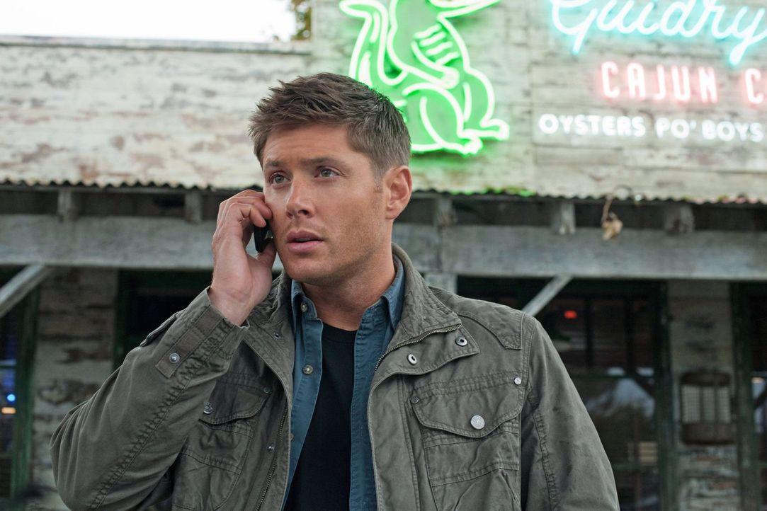 Als Dean (Jensen Ackles) Benny verteidigt, sorgt er für einigen Unmut bei Sam und Martin ... - Bildquelle: Warner Bros. Television