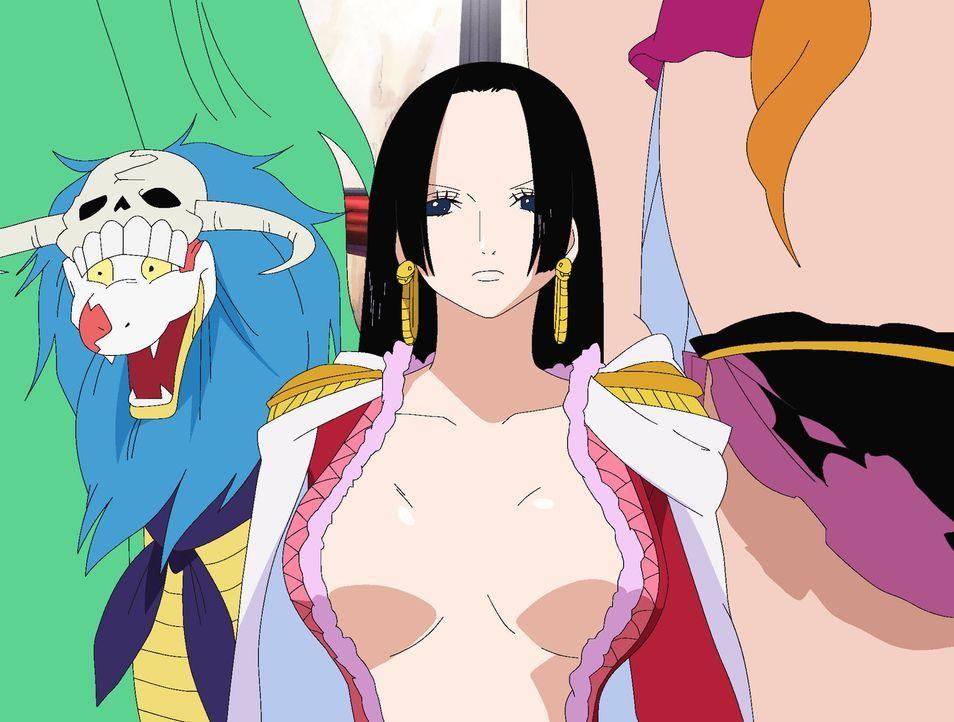 Die Piratenkaiserin überlegt weiterhin, ob sie der Marine die Stirn bieten s... - Bildquelle: Eiichiro Oda/Shueisha, Toei Animation