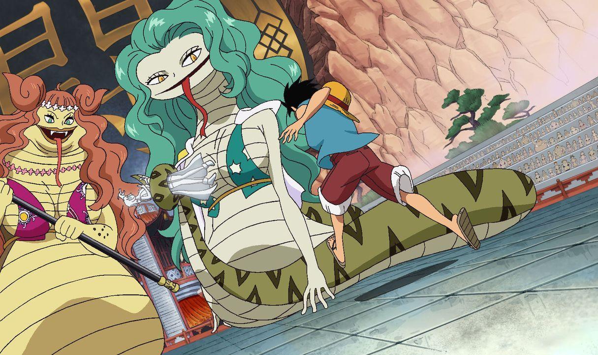Der große Kampf. Ruffy und das Haki! - Bildquelle: Eiichiro Oda/Shueisha, Toei Animation