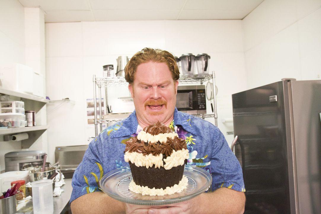 Casey stellt sich in den Ozark Mountains einer neuen Challenge: Einem Cupcake im Größenverhältnis 22:1! - Bildquelle: 2018, The Travel Channel, LLC. All Rights Reserved.