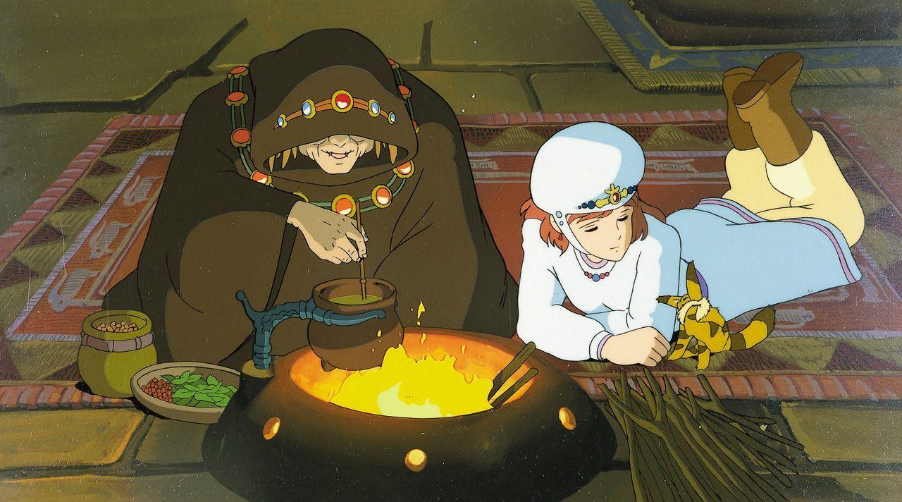 (v.l.n.r.) Obaba; Nausicaä; Teto - Bildquelle: Wild Bunch Germany