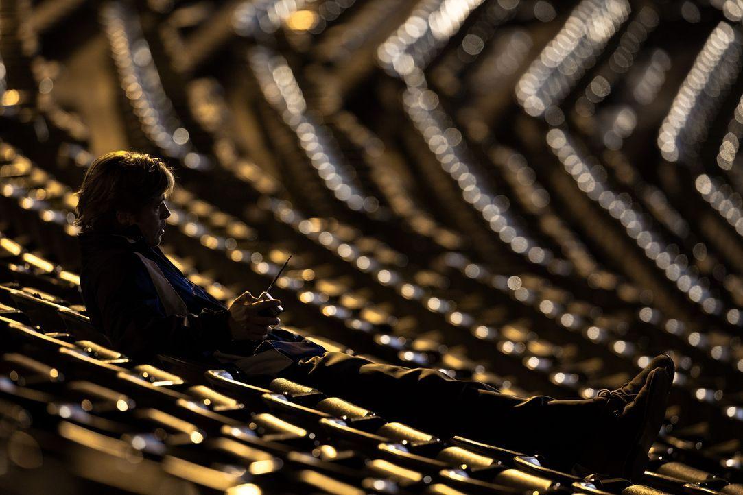 Geht nur ins Stadion, wenn dort kein Spiel ansteht: Billy Beane (Brad Pitt) ... - Bildquelle: 2011 Columbia TriStar Marketing Group, Inc.  All rights reserved.