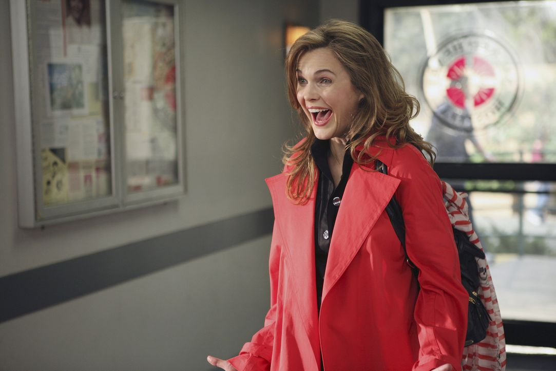 Das plötzliche Auftauen von Elliotts Freundin Melody (Keri Russell) sorgt nicht bei allen für Begeisterung ... - Bildquelle: Touchstone Television