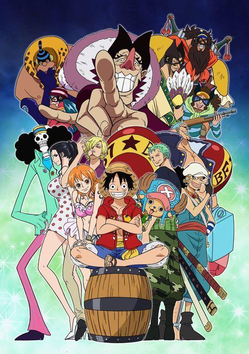 One Piece: Nebulandia - Artwork - Bildquelle: 1999 Toei Animation Co., Ltd.