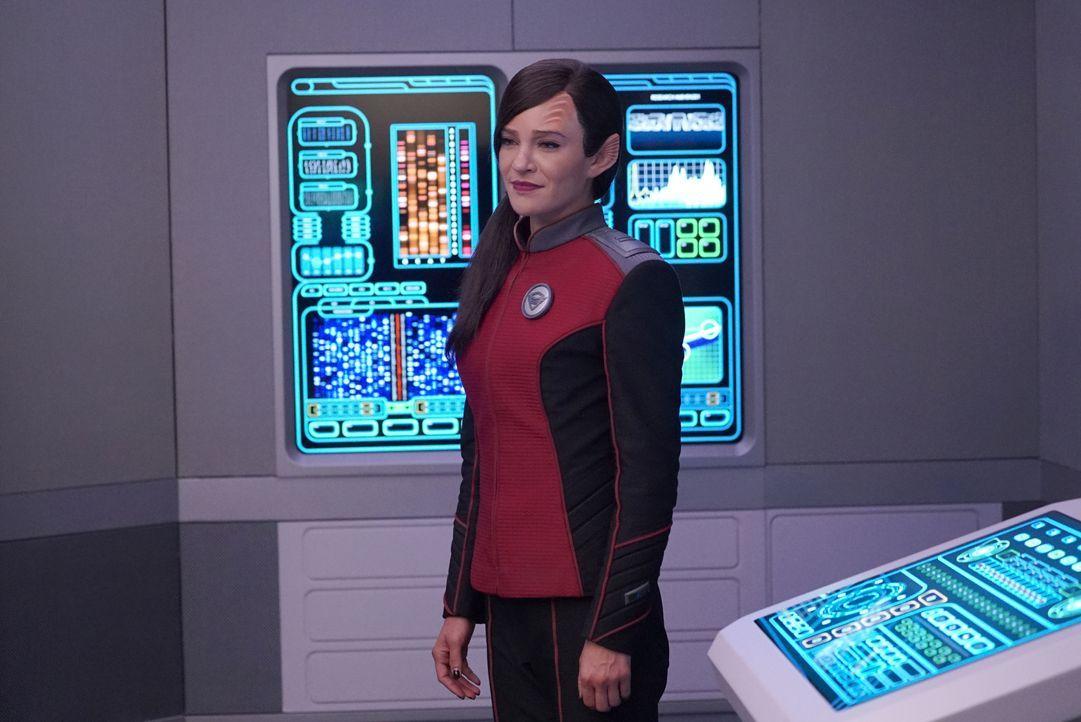 Lt. Talla Keyali (Jessica Szohr) - Bildquelle: 2019 Twentieth Century Fox Film Corporation. All rights reserved.