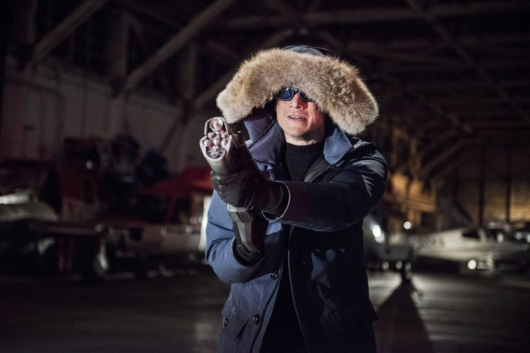 "Ist zurück in Central City, um Barry alias ""The Flash"" auszuschalten: Leonard Snart alias Captain Cold (Wentworth Miller). Doch Barry weiß, wie er s... - Bildquelle: Warner Brothers."