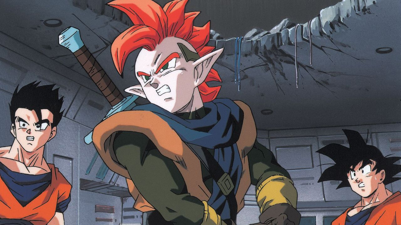 (v.l.n.r.) Gohan; Tapion; Goku - Bildquelle: Bird Studio/Shueisha, Toei Animation Film   1995 Bird Studio/Shueisha, Toei, Toei Animation