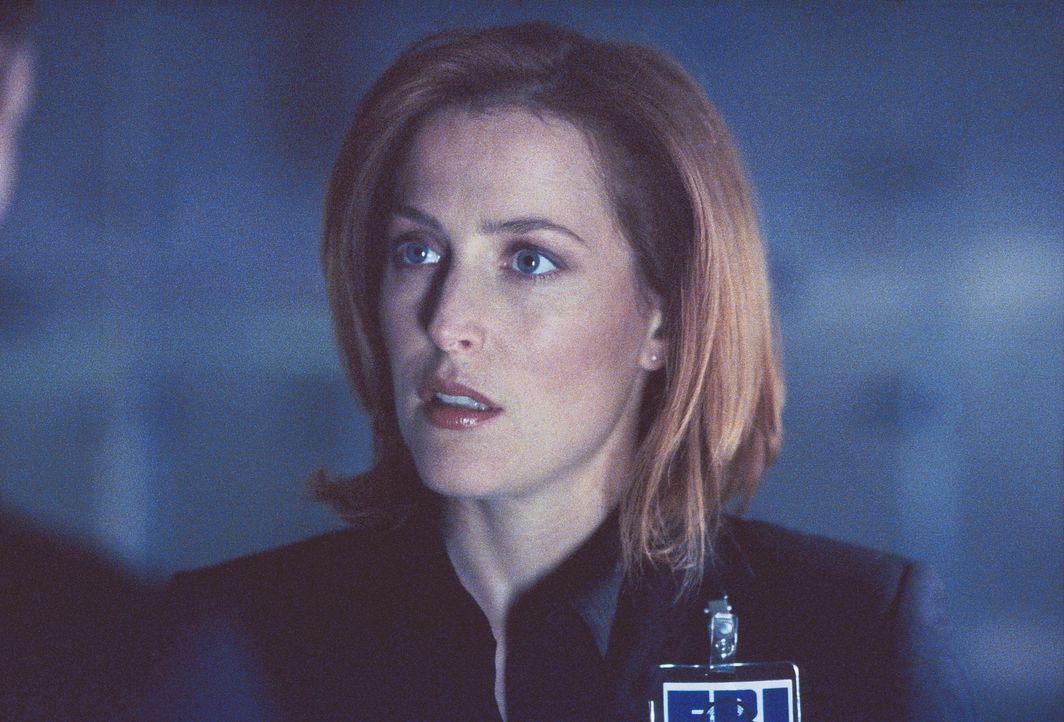 Special Agent Dana Scully (Gillian Anderson) hat einen anonymen Hinweis auf einen äußerst mysteriösen Todesfall erhalten … - Bildquelle: TM +   Twentieth Century Fox Film Corporation. All Rights Reserved.