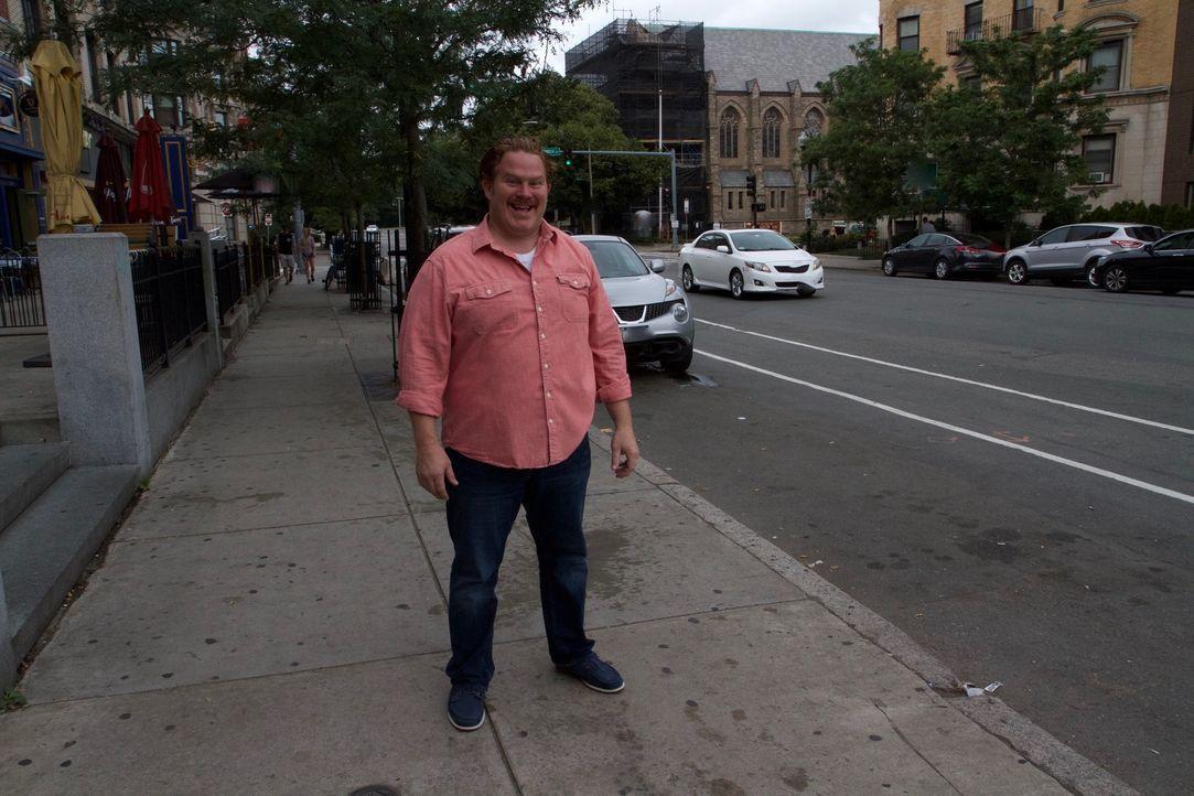 """In Boston stattet Casey Webb der """"Boston Burger Company"""" einen Besuch ab ... - Bildquelle: 2017,The Travel Channel, L.L.C. All Rights Reserved."""