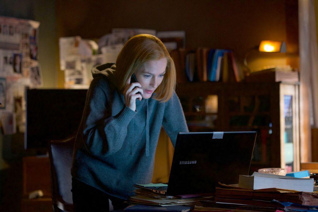 Kämpft bis zum bittere Ende für die Menschheit: Scully (Gillian Anderson) ... - Bildquelle: Shane Harvey 2018 Fox and its related entities. All rights reserved. / Shane Harvey