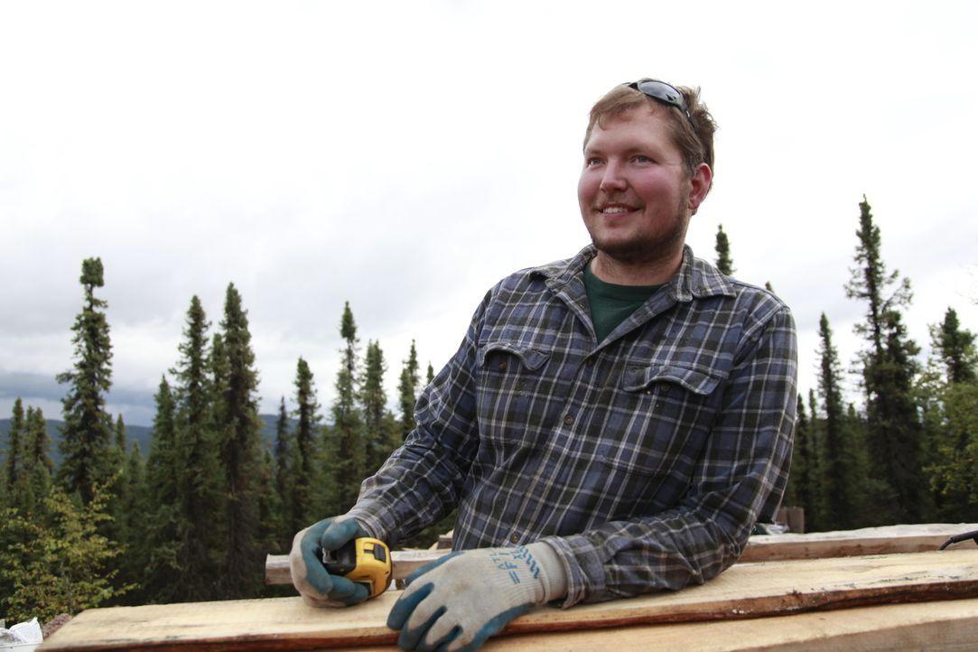 Liebt die Gegend des Nordpols und nimmt dafür auch gerne die Wildnis inkauf : Bryce Ward ... - Bildquelle: 2015, DIY Network/Scripps Networks, LLC. All Rights Reserved.