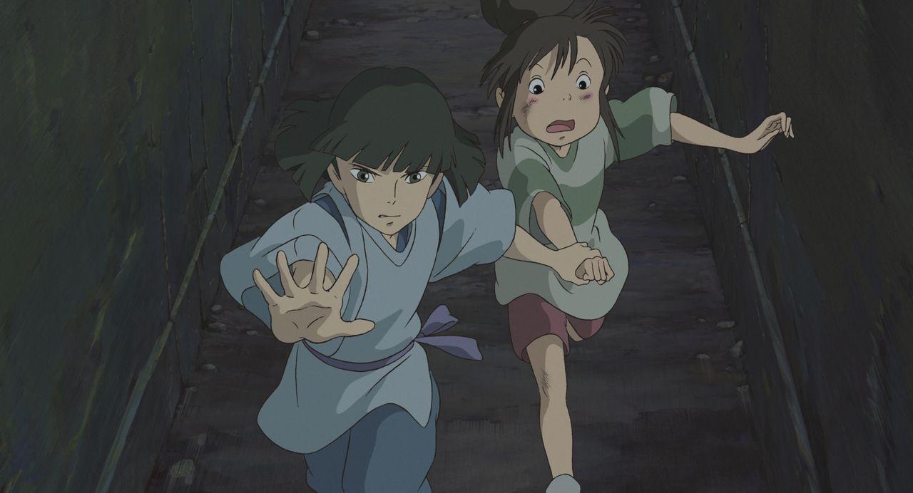 Haku (l.); Chihiro (r.) - Bildquelle: Wild Bunch