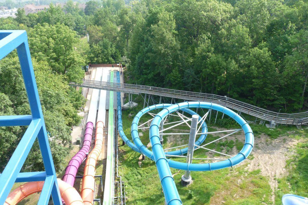 Eine der beliebtesten Attraktionen im Action Park in New Jersey: die berüchtigte Megarutsche Zero-G ... - Bildquelle: 2014,Great American Country/Scripps Networks, LLC. All Rights Reserved.