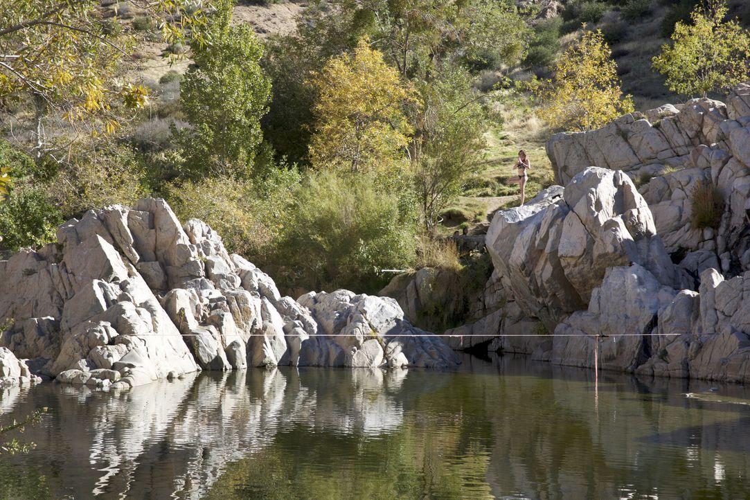 """Die """"Deep Creek Hot Springs"""" in San Bernardino in Kalifornien sind naturbelassene Thermalquellen, in denen es sich wunderbar entspannen lässt ... - Bildquelle: 2017,The Travel Channel, L.L.C. All Rights Reserved"""