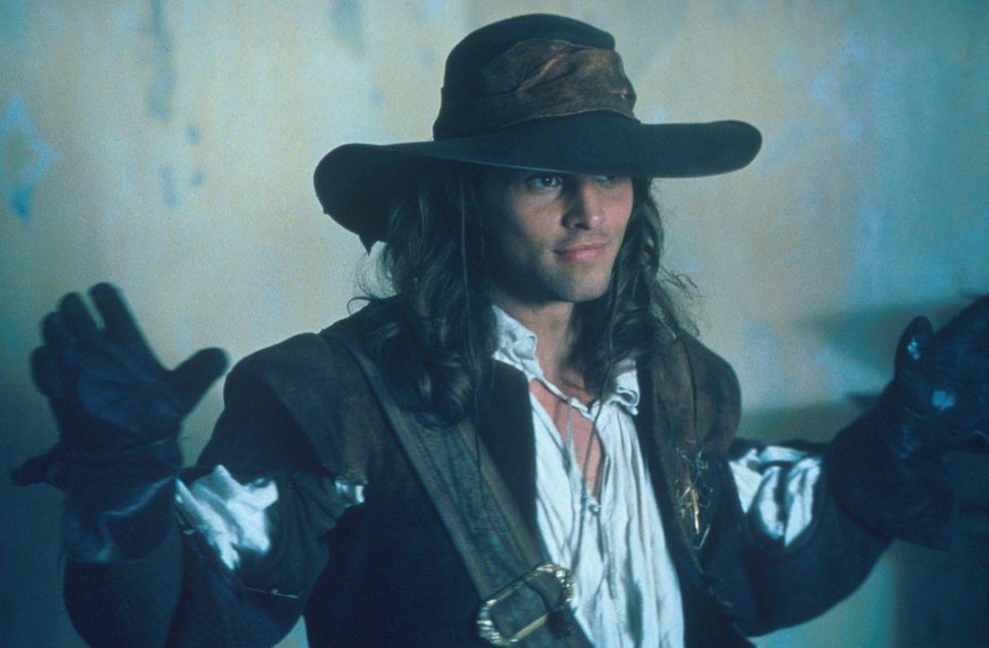 Um den Mördern seines Vaters das Handwerk legen zu können, geht der junge D'Artagnan (Justin Chambers) nach Paris und versucht, bei den Musketieren... - Bildquelle: MDP Worldwide