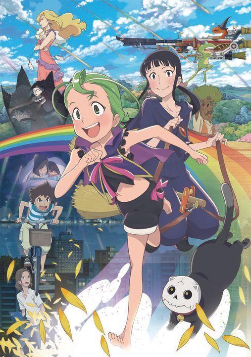 Magical Sisters Yoyo & Nene - Bildquelle: MONOGATARI KANKYO KAIHATSU/TOKUMA SHOTEN YOYONENE FILM PARTNERS