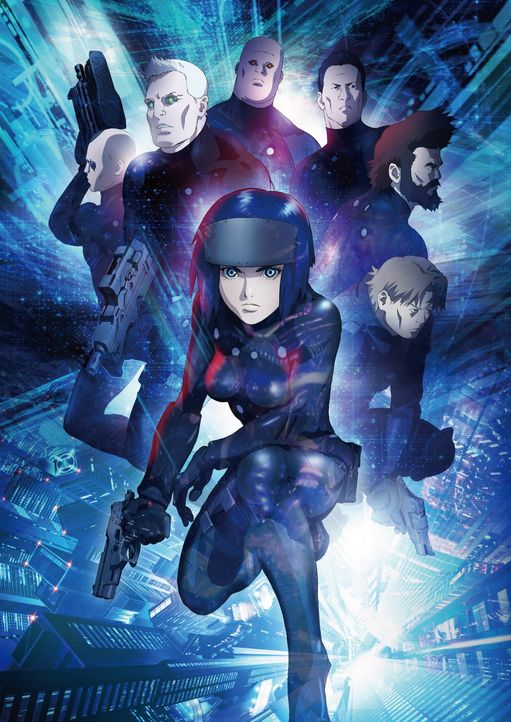 Ghost in the Shell: The New Movie - Artwork - Bildquelle: Shirow Masamune - Production I.G/KODANSHA - GHOST IN THE SHELL: THE MOVIE COMMITTEE. All Rights Reserved.