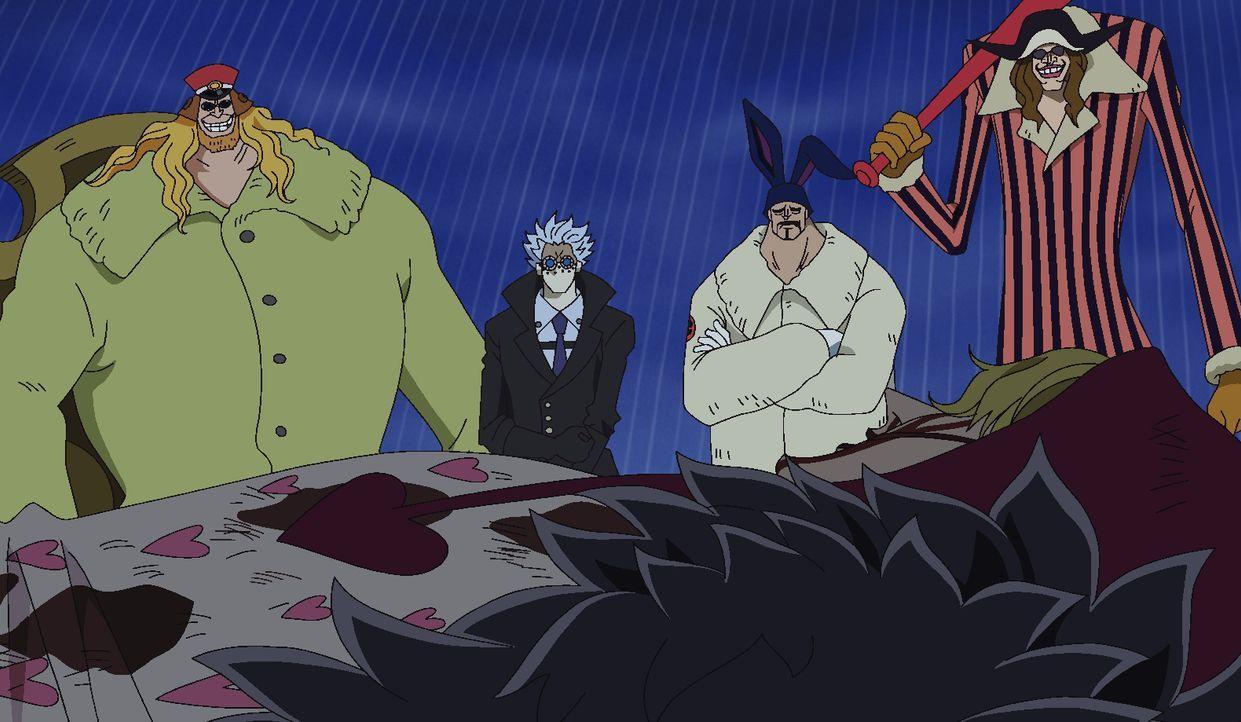 Vorwärts Law! - Der letzte Kampf eines fürsorglichen Mannes - Bildquelle: Eiichiro Oda/Shueisha, Toei Animation