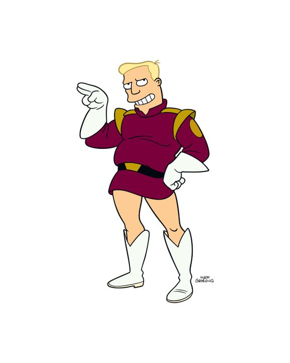(8. Staffel) - Zapp Brannigan: Raumschiffkapitän und Möchtgern-Casanova, hält sich für den Schönsten im Weltraum. - Bildquelle: 2003 Twentieth Century Fox Film Corporation. All rights reserved.