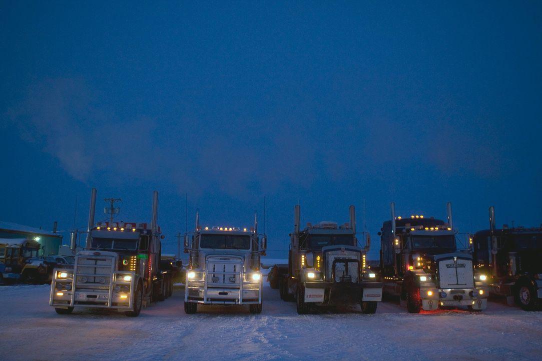 (2. Staffel) - Ice Road Truckers - Bildquelle: 2019 A&E Networks, LLC.