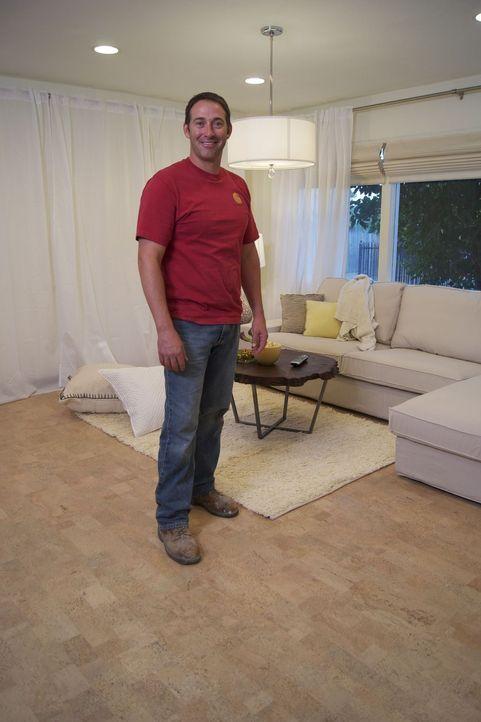 Josh Temple ist dieses Mal im Süden Kaliforniens unterwegs und hat dort die Aufgabe, einen zusätzlichen Wohnraum in eine umweltfreundliche Bar und L... - Bildquelle: 2009, DIY Network/Scripps Networks, LLC
