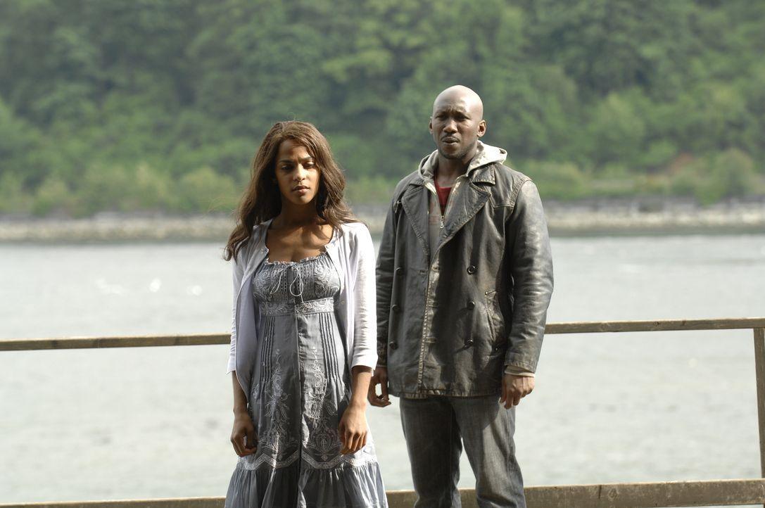 Nachdem ihr Vater Richard (Mahershala Ali) zurückgekehrt ist, möchte er Isabelle (Megalyn Echikunwoke, l.) wieder zu einem Kind machen. Kyle tut all... - Bildquelle: Viacom Productions Inc.