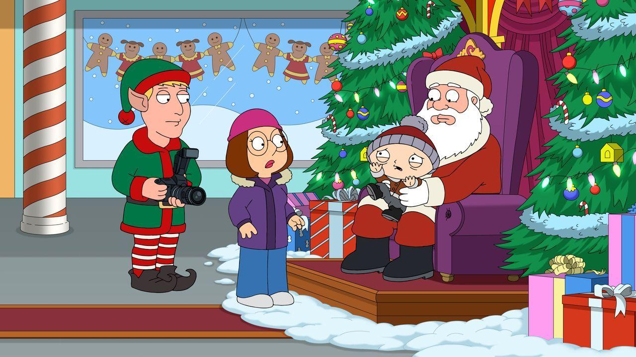 Sein erstes Treffen mit dem Weihnachtsmann hat Stewie sich ganz anders vorge... - Bildquelle: 2020-2021 Twentieth Century Fox Film Corporation. All rights reserved.