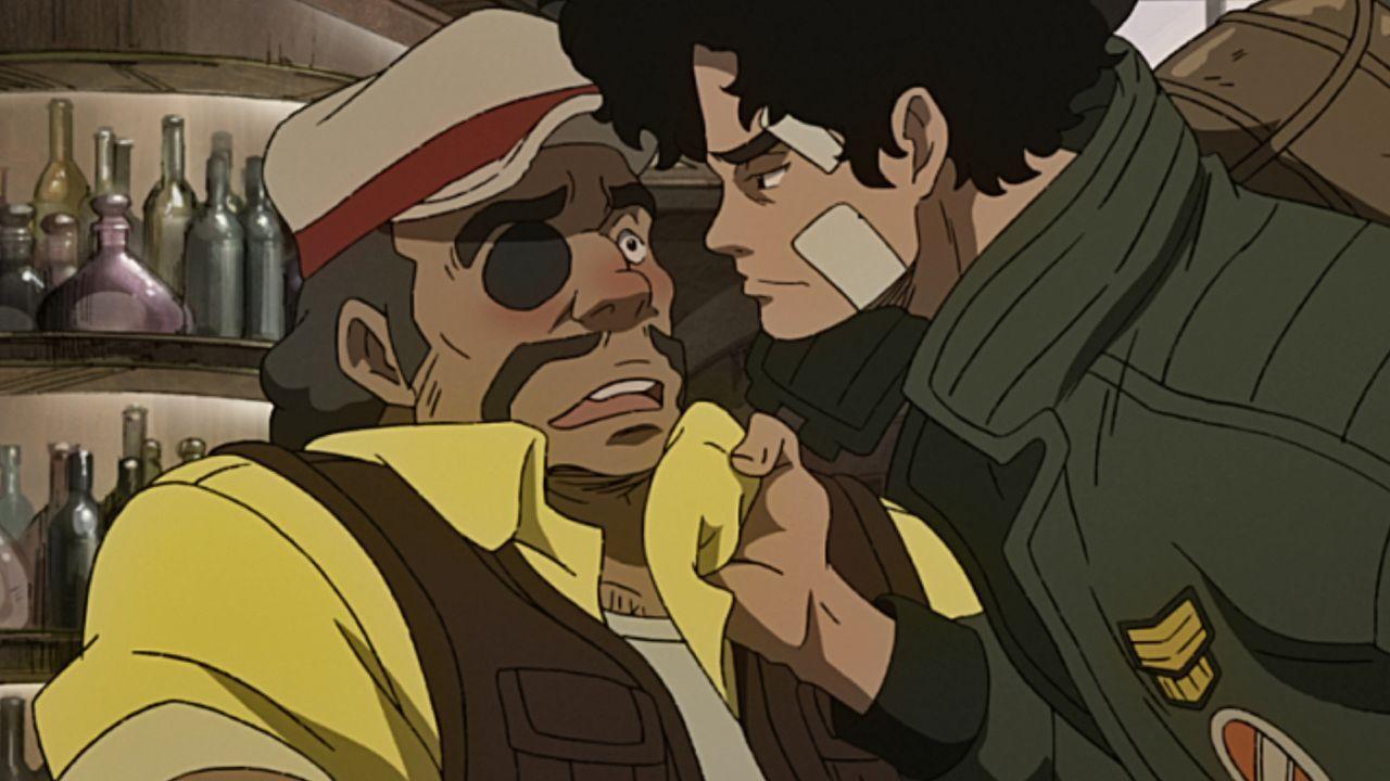 (1. Staffel) - Gansaku Nanbu (l.); Junk Dog (r.) - Bildquelle: Asao Takamori,Tetsuya Chiba/Kodansha/MEGALOBOX project. All Rights Reserved.
