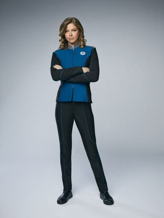 (1. Staffel) - Wird sich Kelly Grayson (Adrianne Palicki) von ihrem Ex-Mann, dem neuen Captain der USS Orville, wirklich etwas sagen lassen? - Bildquelle: 2017 Fox and its related entities.  All rights reserved.