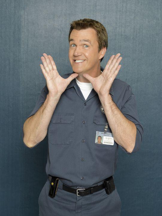 (8. Staffel) - Macht den Ärzten das Leben schwer: der Hausmeister (Neil Flynn) ... - Bildquelle: Touchstone Television