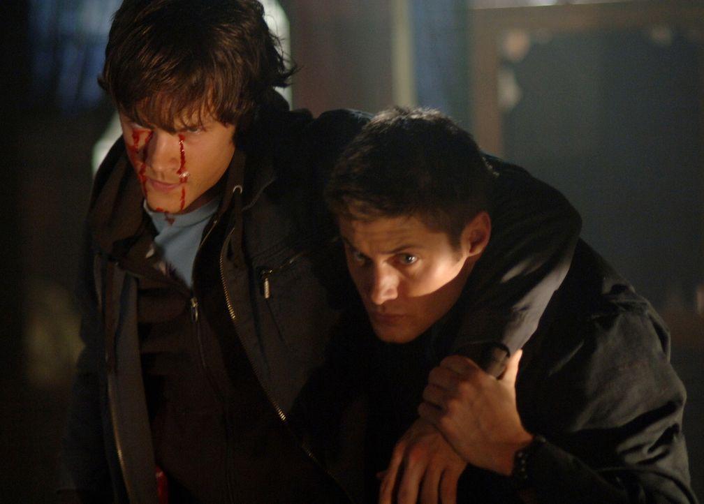 Versuchen Bloody Mary zu vernichten: Sam (Jared Padalecki, r.) und Dean (Jensen Ackles, l.) ... - Bildquelle: Warner Bros. Television