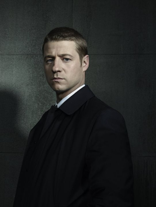 (1. Staffel) - Räumt in Gotham City auf: James Gordon (Ben McKenzie) ... - Bildquelle: Warner Bros. Entertainment, Inc.