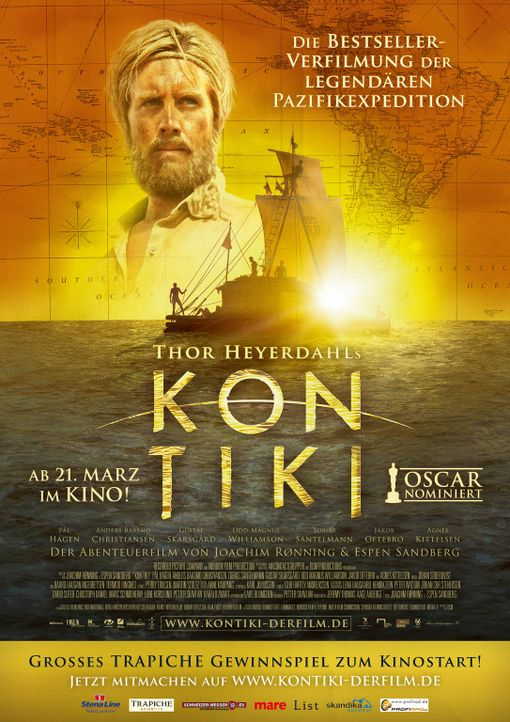 KON TIKI - Plakatmotiv - Bildquelle: DCM Film Distribution GmbH