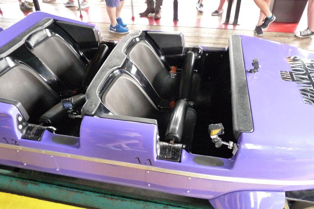 """Eine der beliebtesten Attraktionen im Kennywood Park: die Achterbahn """"Phantom's Revenge"""" ... - Bildquelle: 2014, GAC/Scripps Networks, LLC. All Rights Reserved."""