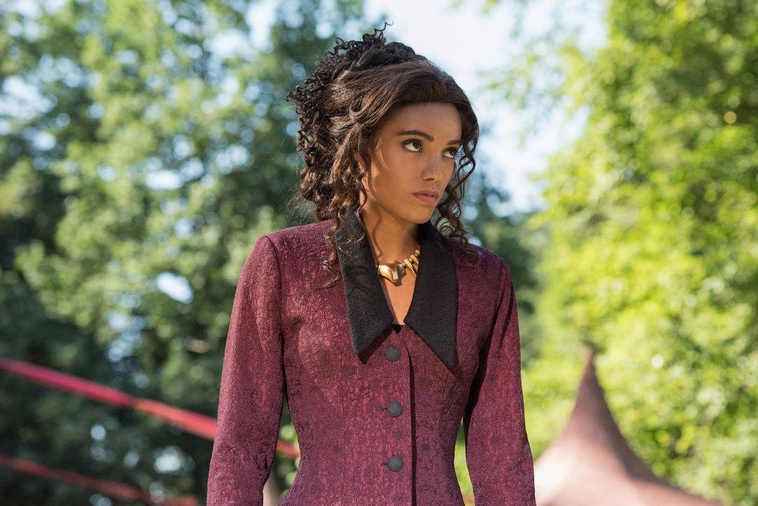 Muss Amaya (Maisie Richardson-Sellers) den Legends zu Hilfe eilen, nachdem sie im Jahre 1870 ausversehen einen Säbelzahntiger freilassen? - Bildquelle: 2017 Warner Bros.