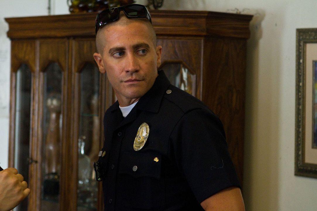 Ist einer hemmungslosen Drogengang ein Dorn im Auge: Officer Brian Taylor (Jake Gyllenhaal) ... - Bildquelle: Scott Garfield 2011 Sole Productions, LLC. All rights reserved.