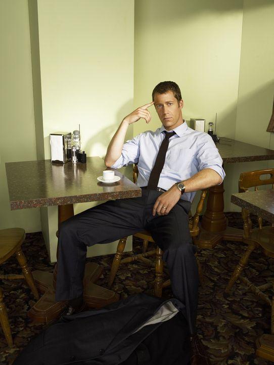 (1. Staffel) - Jack Carter (Colin Ferguson) landet durch einen Zufall in Eureka, einem kleinen Städtchen, in dem merkwürdige Dinge geschehen ... - Bildquelle: Universal Television
