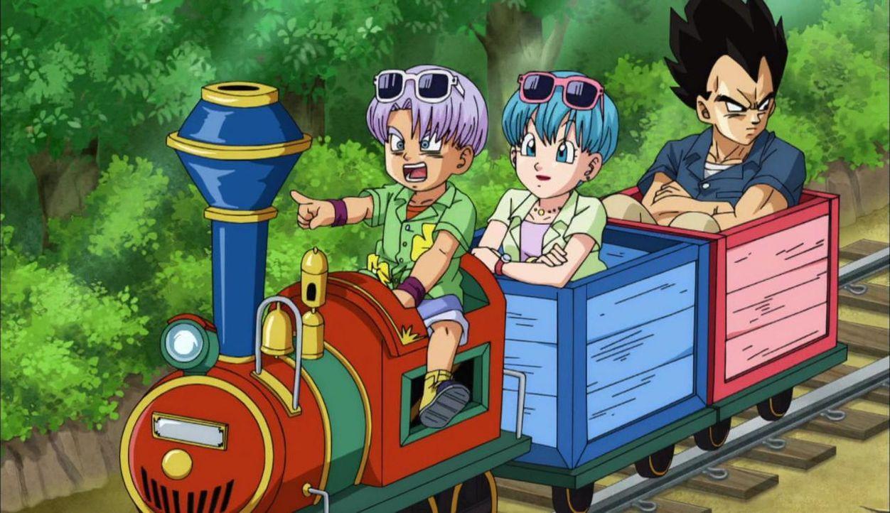Eine Zugfahrt, die ist lustig - außer man heißt Vegeta und ist der Prinz der Saiyajin! - Bildquelle: BIRD STUDIO/SHUEISHA, TOEI ANIMATION