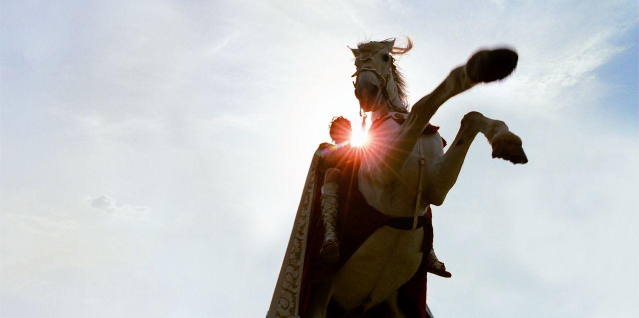 Asterix und Obelix' Weg führt diesmal nach Griechenland zu den Olympischen Spielen. Sie müssen ihrem Freund Romantix helfen diese zu gewinnen und Br... - Bildquelle: Constantin Film