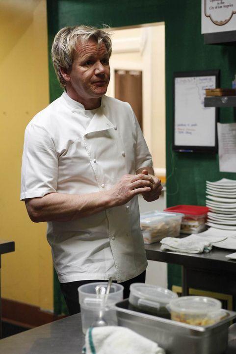Gordon Ramsay wird nach California ins Kingston Café gerufen, denn deren Besitzer haben Angst, dass sie ihr Lebenswerk verlieren ... - Bildquelle: Greg Gayne Fox Broadcasting.  All rights reserved.