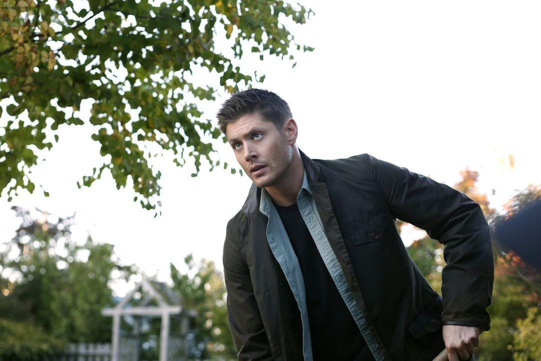 Eigentlich kann Dean (Jensen Ackles) mit dem ganzen imaginäre Freunde-Thema gar nichts anfangen, doch als Sams alter Kumpel aus Kindheitstagen plötz... - Bildquelle: 2014 Warner Brothers