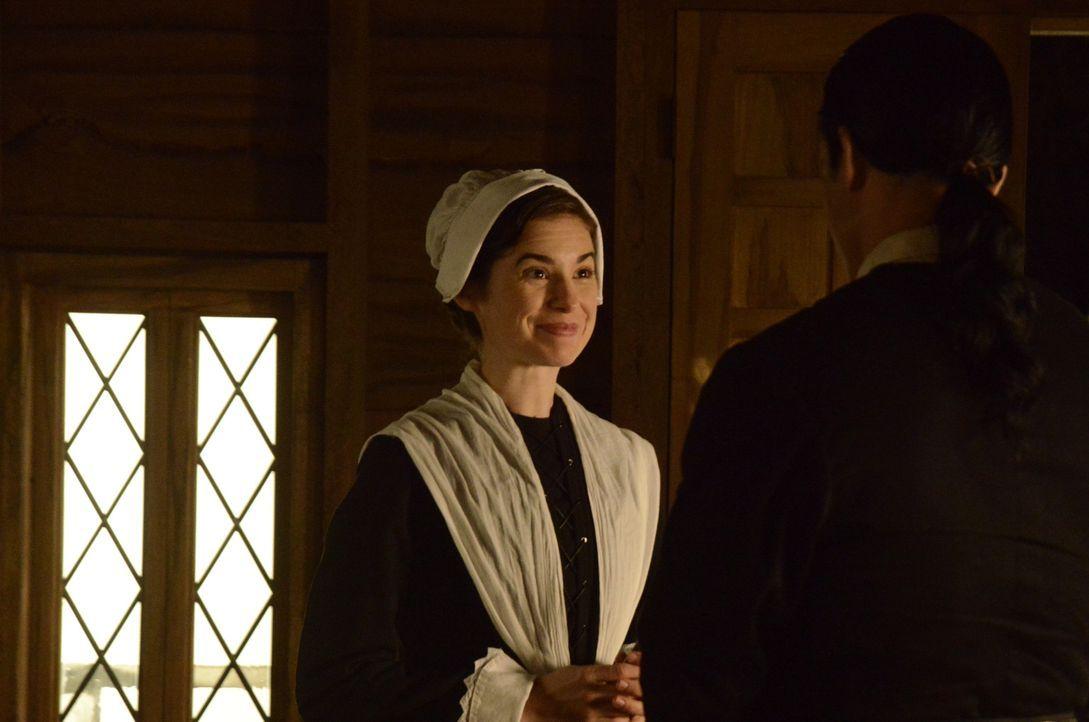 Der tragische Tod von Sarah Osborn (Lindsey Garrett) heizt im 17. Jahrhundert in Salem die Hexenjagd an ... - Bildquelle: 2014 Fox and its related entities. All rights reserved