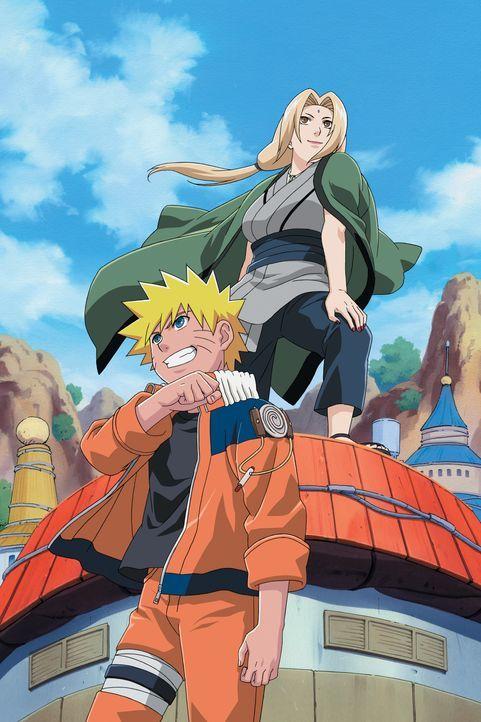 Naruto Uzumaki (l.); Tsunade (r.) - Bildquelle: 2002 MASASHI KISHIMOTO. ALL RIGHTS RESERVED.