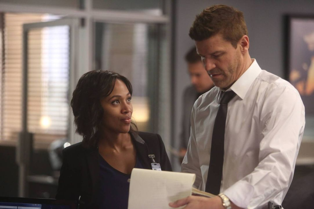 Ein Gespräch mit Agent Booth (David Boreanaz, r.) weckt bei Abbie (Nicole Beharie, l.) Zweifel ... - Bildquelle: 2015-2016 Fox and its related entities.  All rights reserved.