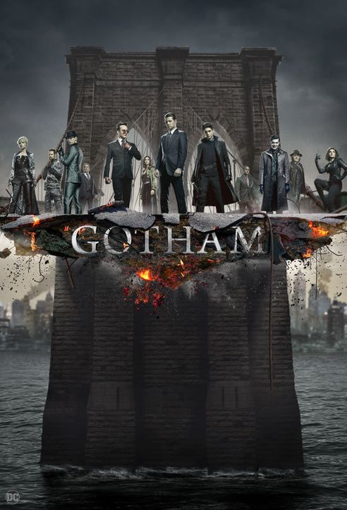 (5. Staffel) - Gotham - Artwork - Bildquelle: 2018 Warner Bros. Entertainment Inc.  All Rights Reserved.