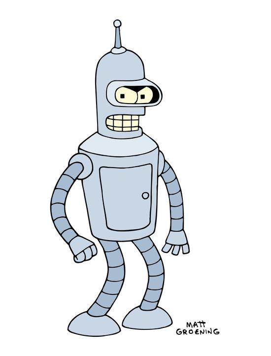 (6. Staffel) - Bender ist ein Roboter mit großem Herz und allzu menschlichen Schwächen ... - Bildquelle: und TM Twenthieth Century Fox Film Corporation - Alle Rechte vorbehalten