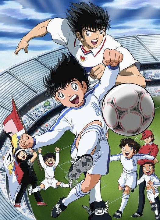 Super Kickers 2006 - Artwork - Bildquelle: 1983, 2012 YOUICHI TAKAHASHI·SHUEISHA· TV TOKYO·ENOKI FILMS