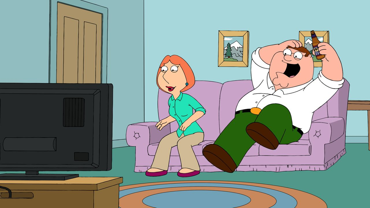 Lois Griffin (l.); Peter Griffin (r.) - Bildquelle: 2018-2019 Fox and its related entities.  All rights reserved.