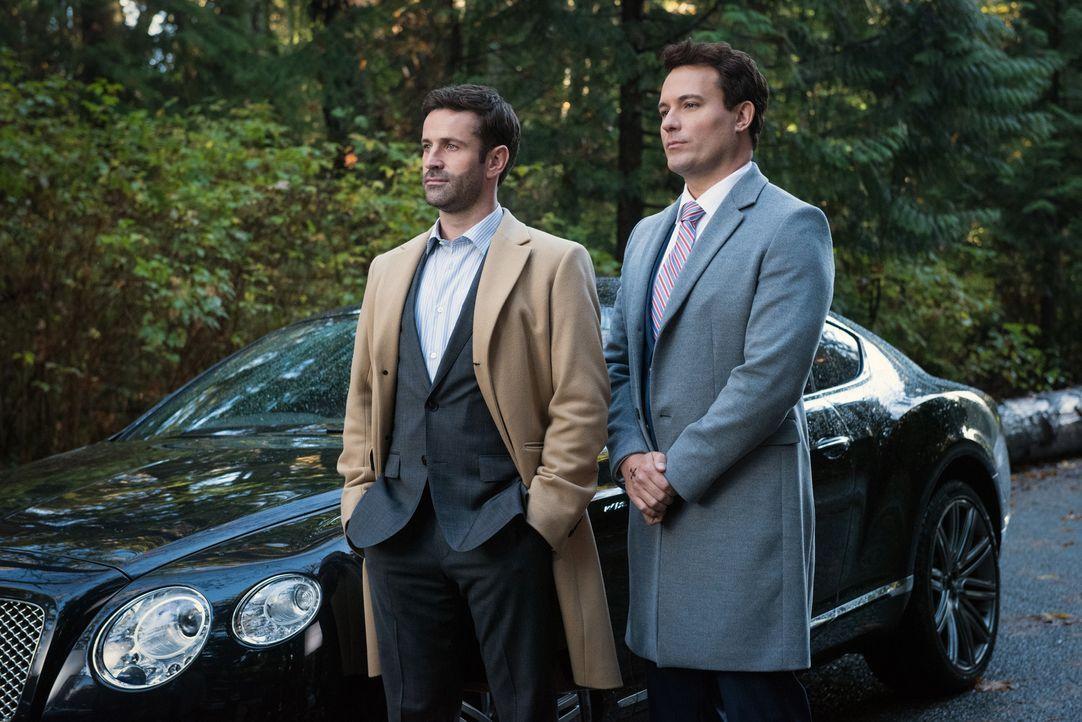 Mick Davies (Adam Fergus, l.); Arthur Ketch (David Haydn-Jones, r.) - Bildquelle: Dean Buscher 2016 The CW Network, LLC. All Rights Reserved/Dean Buscher
